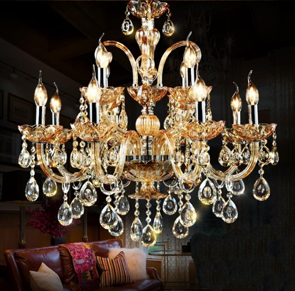 Dining Room Chandeliers Traditional Crystals: Ceiling Lights Chandeliers Crystal Modern Contemporary