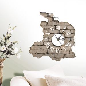 Modern Simple Creative 3D Mute Wall Clock