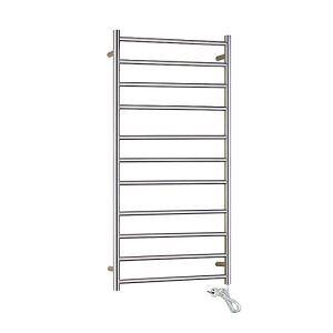 Modern Simple Silver Wall Mounted Stainless Steel Towel Warmer 110W