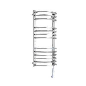 Modern Simple Silver Wall Mounted Stainless Steel Towel Warmer 170W