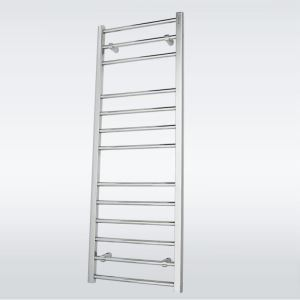 Modern Simple Silver Wall Mounted Stainless Steel Towel Warmer 140W