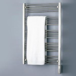 Modern Simple Silver Wall Mounted Stainless Steel Towel Warmer 230W