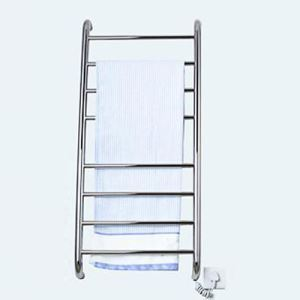 Modern Simple Silver Wall Mounted Stainless Steel Towel Warmer 80W