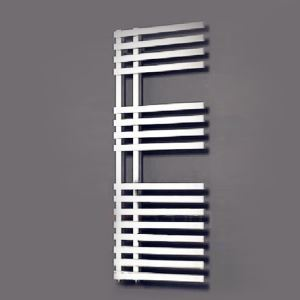 Modern Simple Silver Wall Mounted Stainless Steel Towel Warmer 150W