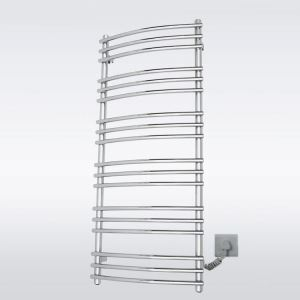 Modern Simple Silver Wall Mounted Stainless Steel Towel Warmer 180W