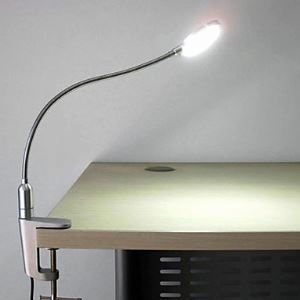 4W Modern LED Clamp Lamp with Ajustable Base Energy Saving