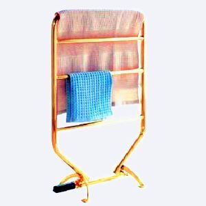 Modern Simple Golden Mobile Stainless Steel Towel Warmer 70W