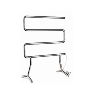 Modern Simple Silver Mobile Stainless Towel Warmer 40W