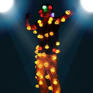 Halloween Pumpkin String Lights Scene Layout Lights Halloween Holiday Decor Halloween Gifts