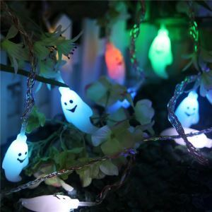 Halloween Christmas Outdoor Decoration Courtyard Waterproof String Lights