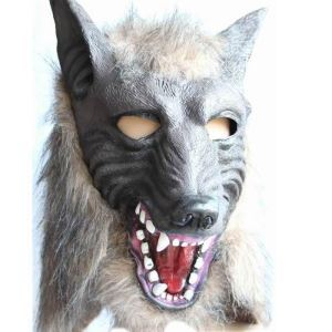 Halloween COS Mask Animal Head Cover Halloween Holiday Decor Halloween Gifts