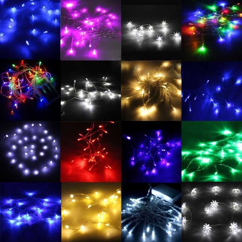 Battery Operated String Lights Hobby Lobby : Gifts - Christmas Supplies - Christmas LED Battery Colorful String Lights Christmas Holiday ...
