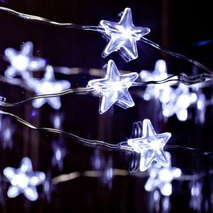 Christmas Mini Star DIY Coloful Light fot Decoration Christmas Holiday Decor Christmas Gifts