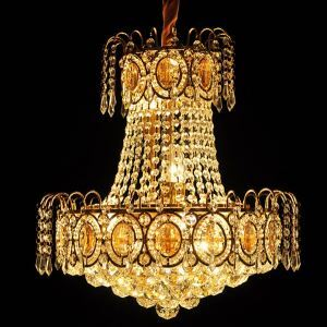 Modern LED Pendant Lights With K9 Lustres Crystal And Gold Color For Dining Room Lighting Ideas Lighting (928)