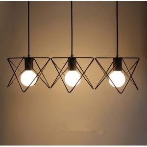 Chandeliers 3 LED Bulbs ceiling lights s Classic  Rustic  Lodge  Vintage  Lantern  Metal Minimalist Style Ceiling Lights