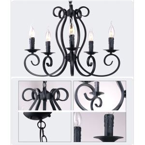 Bohemia European Style Chandelier Lamp Simple Personalized Living Room Bedroom Garden Restaurant Tieyi Lighting