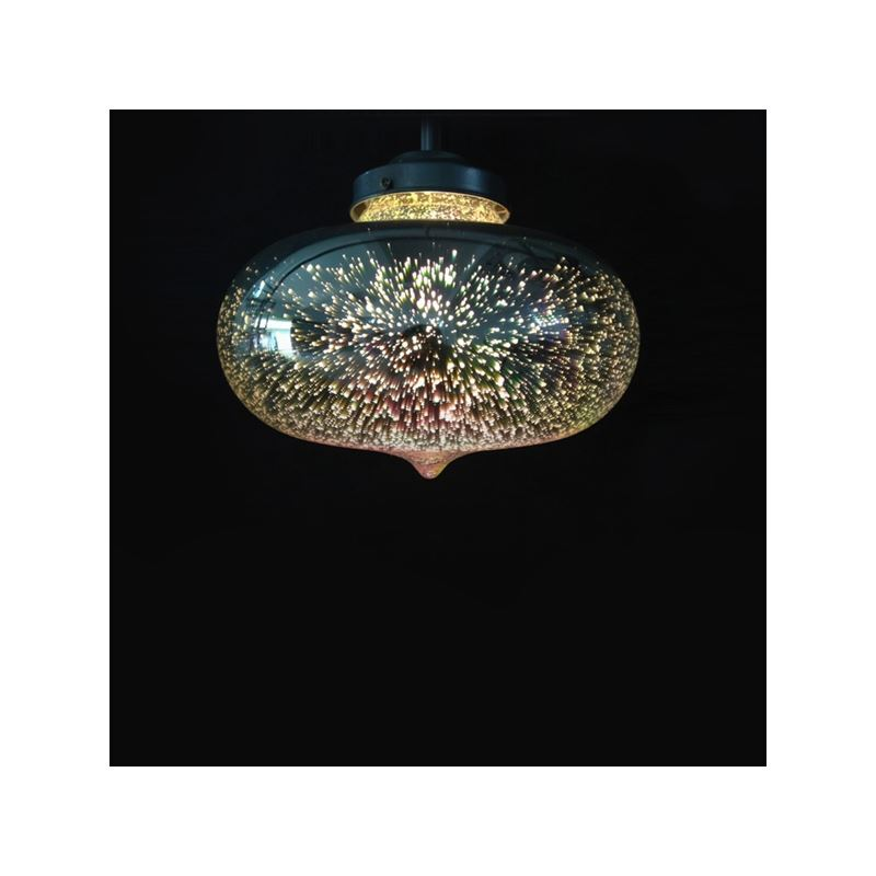 Sky Star Romantic Glass Pendant Light
