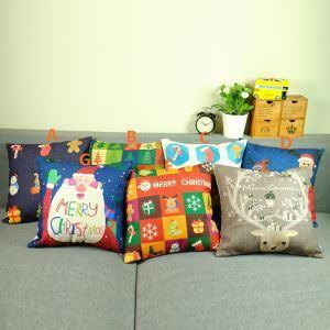 Christmas Sofa Office Cushion Cover 7 Designs Christmas Pillow Cover Christmas Gifts