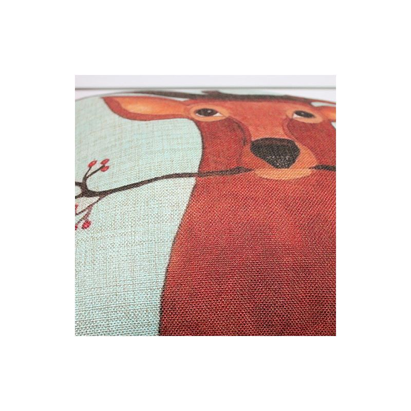 Gifts - Christmas Supplies - Modern Simple Christmas Reindeer Sofa Office Cushion Cover ...