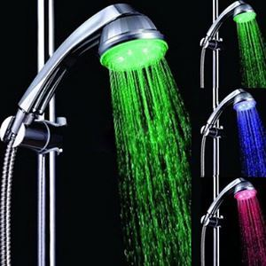 Chrome LED Rain Shower Head 1039-M4303