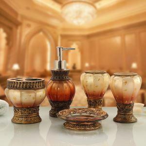 Creative Resin Bath Ensembles 5-piece Bathroom Accessories
