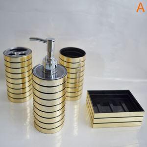 Fashionable Acrylic Bath Ensembles 4-piece Bathroom Accessories