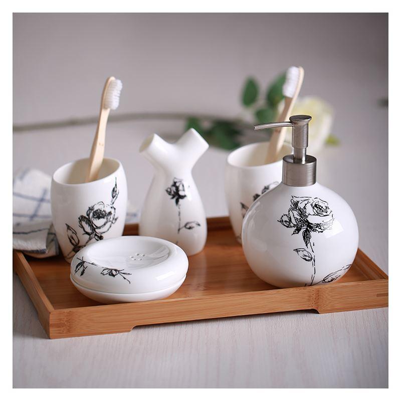 Bathroom bath ensembles european simple creative for Bathroom ensembles accessories