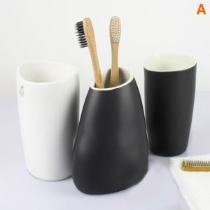 Modern Simple CeramicBath Ensembles 3-piece Bathroom Accessories