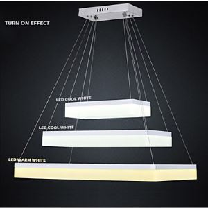 Acrylic Pendant Light Fixtures LED Chandeliers Ceiling Lamp Lighting with Dining Room Lighting Ideas AC100 to 240v CE FCC ROHS