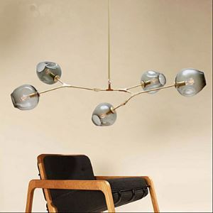 (In Stock)American Creative Personality living Room Dining Room Lighting Ideas Villa Art Pendant