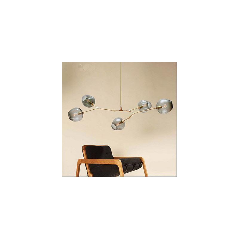 American creative personality living room dining room lighting ideas villa art pendant for Creative living room lighting ideas