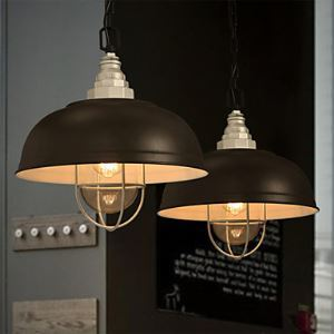 MaiShang Mini Style/Bulb Included Pendant Lights , Vintage/Traditional/Classic/Bowl Living Room/Dining Room Lighting Ideas