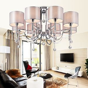 Chandeliers / Flush Mount Crystal / Bulb Included Modern/Contemporary Living Room / Bedroom / Dining Room Lighting Ideas Metal