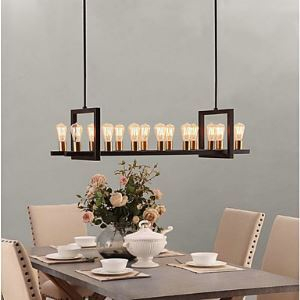 Chandeliers Bulb Included Vintage Bedroom / Dining Room Lighting Ideas / Study Room/Office / Entry / Hallway Metal