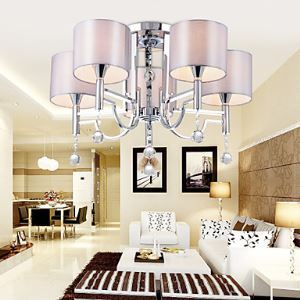 Chandeliers / Flush Mount Crystal/Contemporary Living Room / Bedroom / Dining Room Lighting Ideas Metal