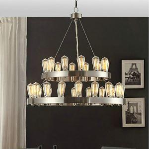 Flush Mount Mini Style Vintage Bedroom / Dining Room Lighting Ideas / Study Room/Office / Entry / Hallway Metal