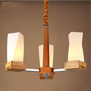 Simple Art lighting Solid wood Creative Iiving Room Ceiling lamp