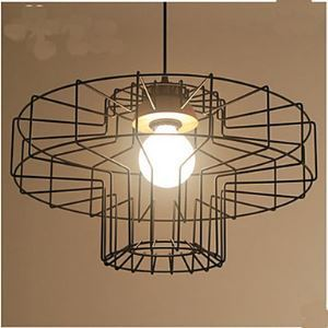 Single head Iron Chandelier Chandelier Retro Mesh A