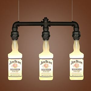 Mall Restaurant Glass Bottle Bottle Droplight
