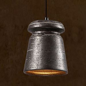Personality Retro Ceramic Hanging Teahouse Chandelier lamp C