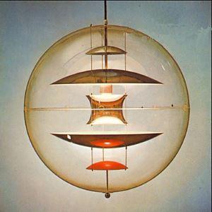 Modern simple sspherical transparent Chandelier