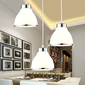 LED Pendant Lights Modern/Contemporary Living Room Bedroom Dining Room Lighting Ideas Metal