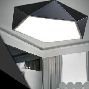 Modern Simple Creative LED Dimmable Acrylic Geometrical Flush Mount Light Living Room Bedroom Study Room Dining Room Energy Saving