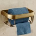 European Antique Bathroom Accessories Copper Toilet Roll Holders