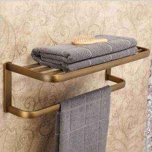 European Antique Bathroom Accessories Copper Towel Bar