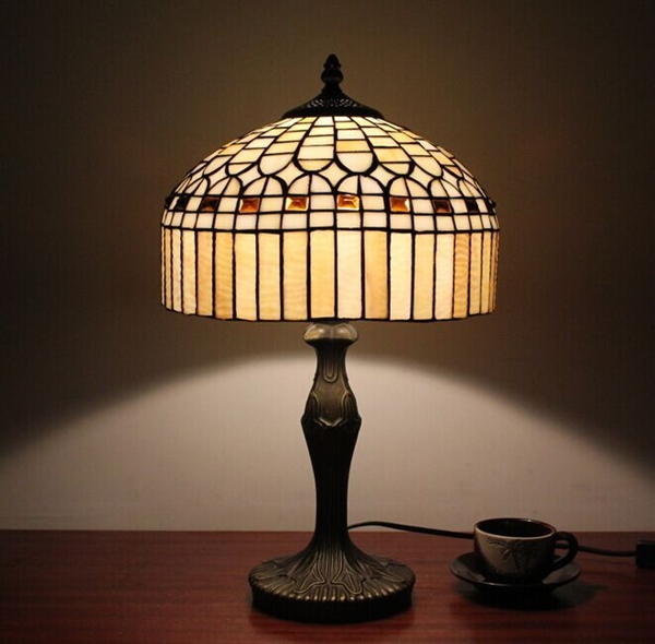Tiffany Style Jewel Bronze Finish Table Lamp 0923 Tf12