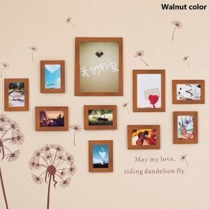 European Style Wood Wall Frame Collection  - Set of 10 Pieces(Pictures Not Included)