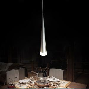 Modern Simple Acrylic LED Pendant Light 1-light Energy Saving