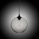 Modern Minimalist Glass Pendant Light Globe Pendant with 1 Light (Silver Grey) Dining Room Lighting Ideas Lighting Living Room Bedroom Ceiling Lights