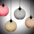 Show details for (In Stock) Ceiling Lights Modern Minimalist Glass Pendant Light Globe with 1 Light Dining Room Living Room Bedroom Lighting(Color of Love)